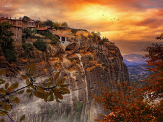 Meteora - Greece by kouki1