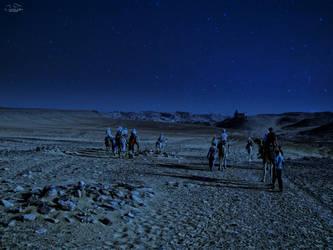 Night in the desert by kouki1