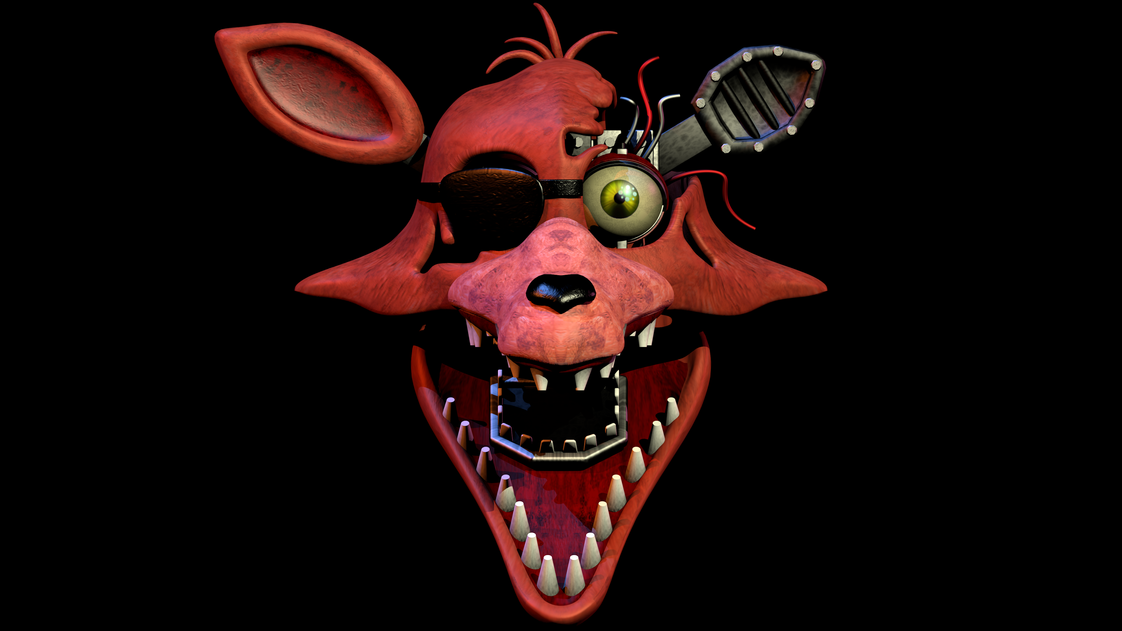 Wuthered Foxy Head By CoolioArt On DeviantArt