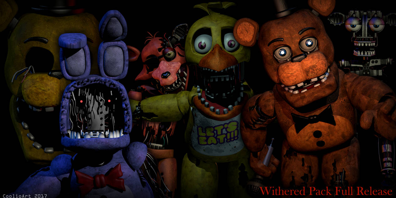 Fnaf 2 Withered Animatronics [FIXED DOWNLOAD PACK] by