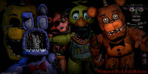 Fnaf 2 Withered Animatronics [FIXED DOWNLOAD PACK] by CoolioArt