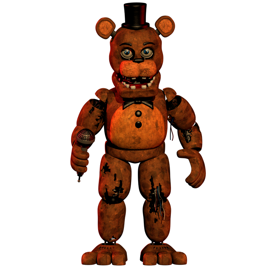 Withered Freddy Updated [DOWNLOAD] by CoolioArt on DeviantArt