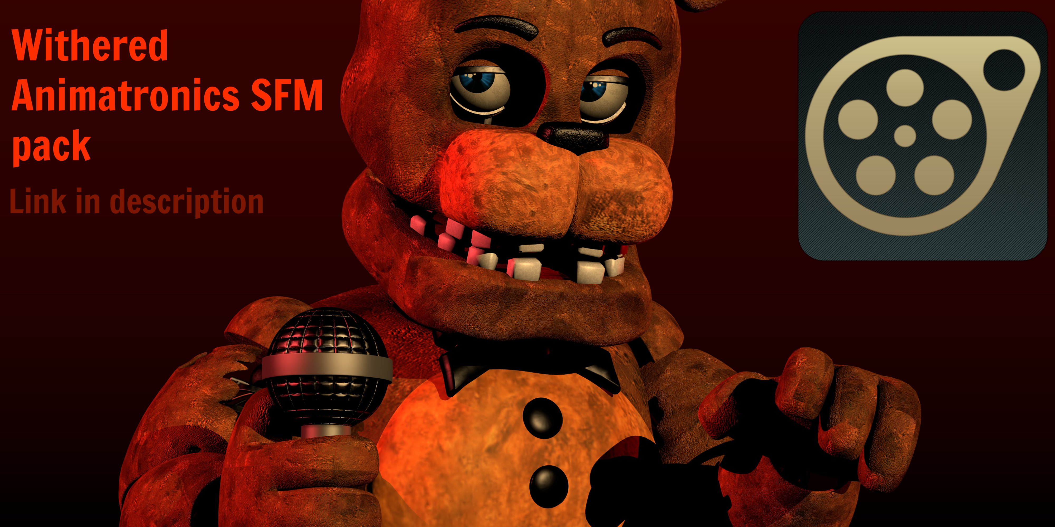 Withered Animatronic Download SFM Pack! by CoolioArt on