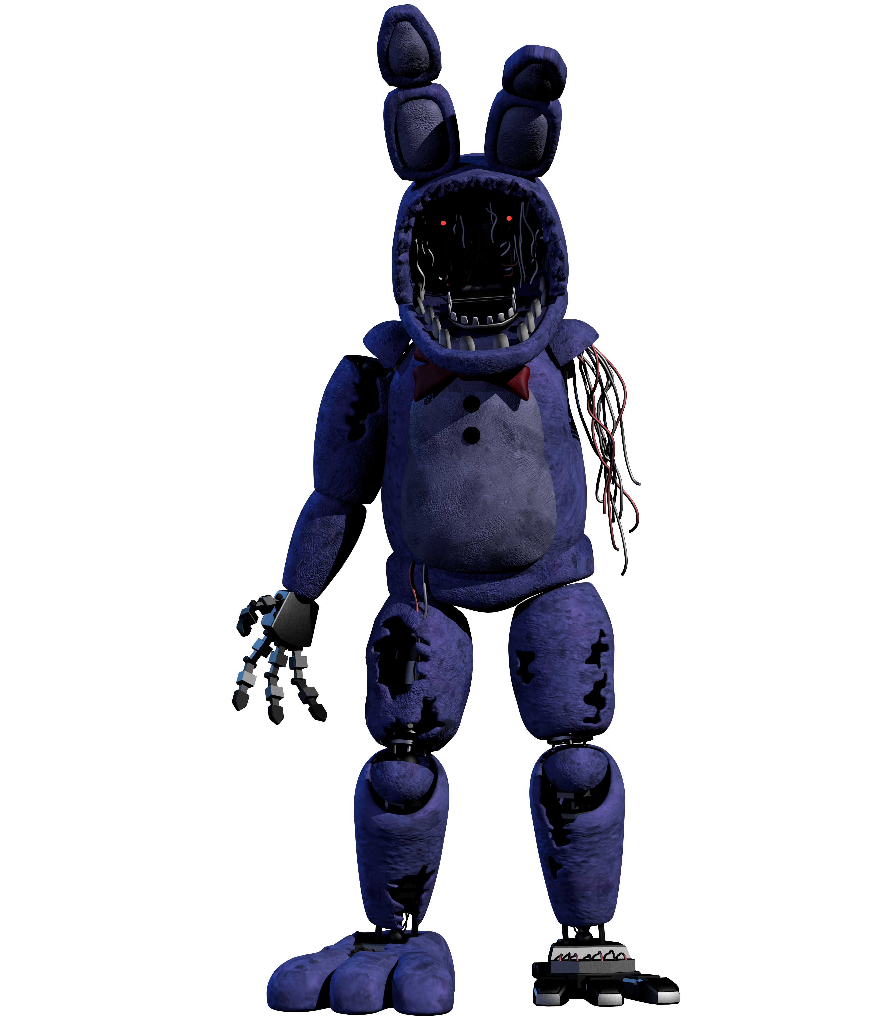 Improved Withered Bonnie FULL RENDER 4k by CoolioArt on ...