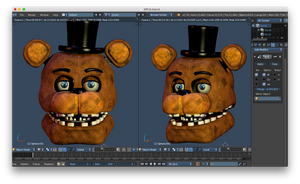 Withered freddy v5 head W.I.P 2