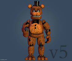 Withered Freddy V5 [FULL RENDER] by CoolioArt