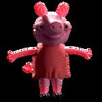 peppa pig blender 3d model
