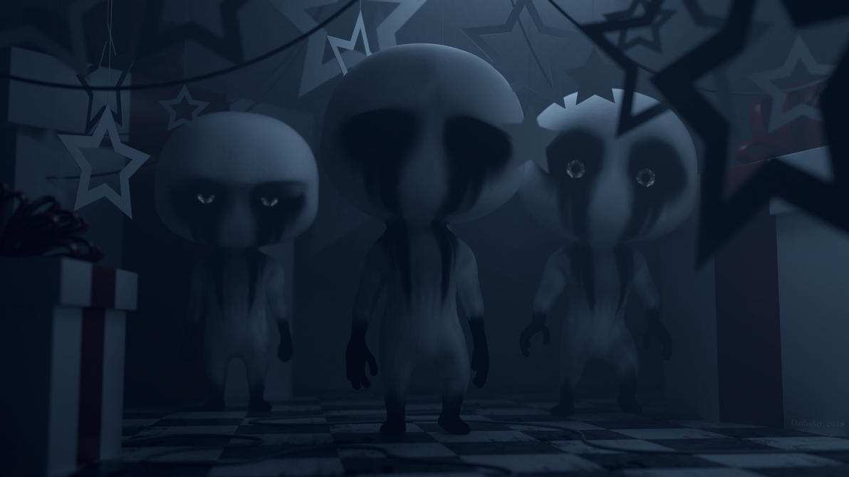 [Blender Cycles] The Crying Children by CoolioArt