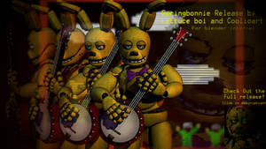 [ST COLLAB PACK] Springbonnie Halloween Release
