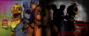Withered/Unwithered Pack V3 [BLENDER INTERNAL]FIX]