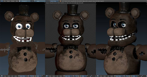 Vr Withered freddy W.I.P