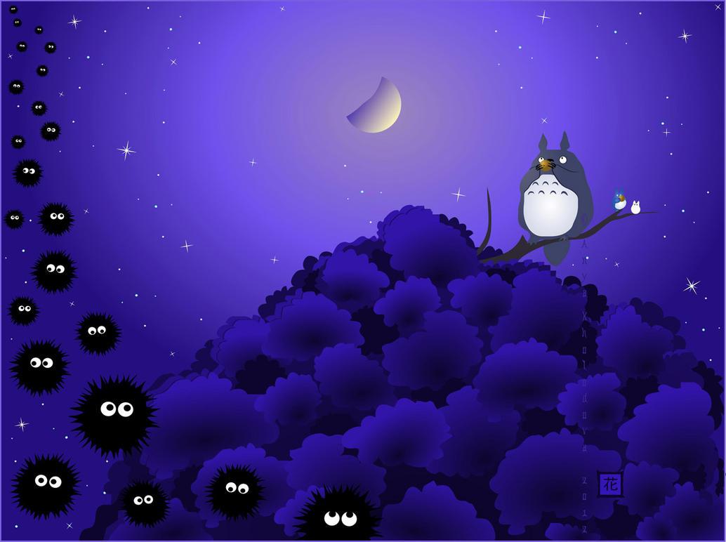 Totoro's Eine kleine Nachtmusik by broom-rider