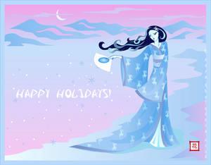 Yuki - Happy Holidays!
