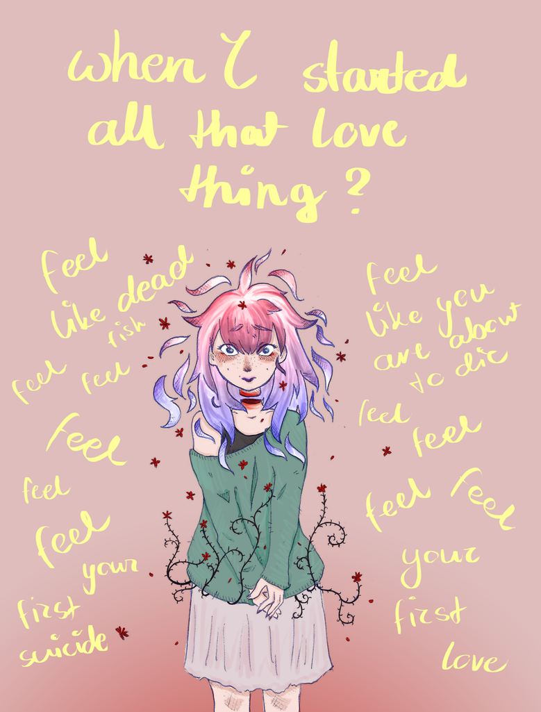 frist love = first suicide by tinuviela