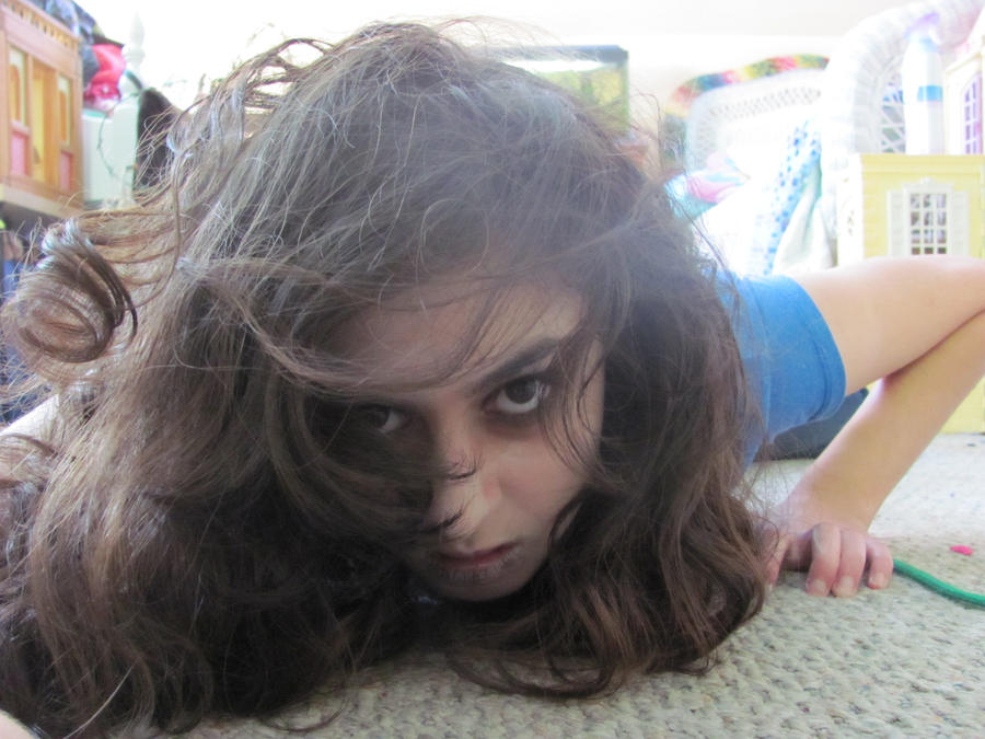 Rawr! I\'m the grudge (halloween makeup 2012) by Kitty-Wolf17 on ...