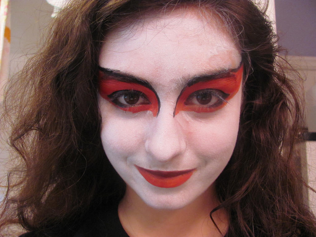 Kyoshi Warrior Face Paint