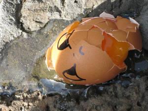 egg massacre on easter