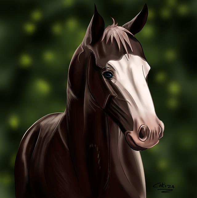The most beautifull foal by Catiza