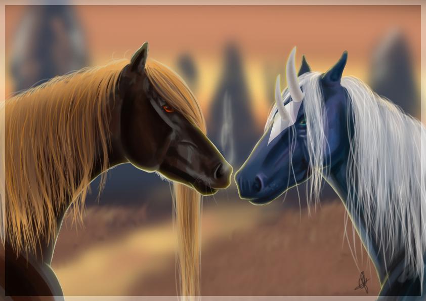 Jack en Tariya by Catiza