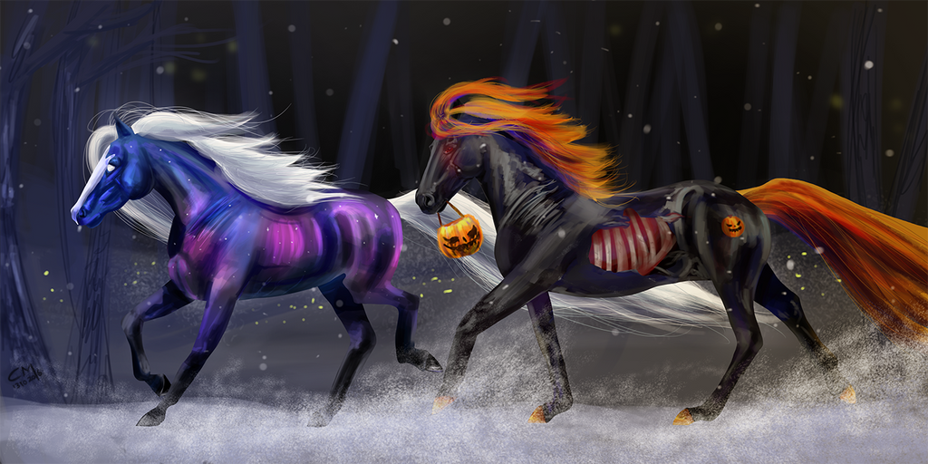 Halloween run by Catiza