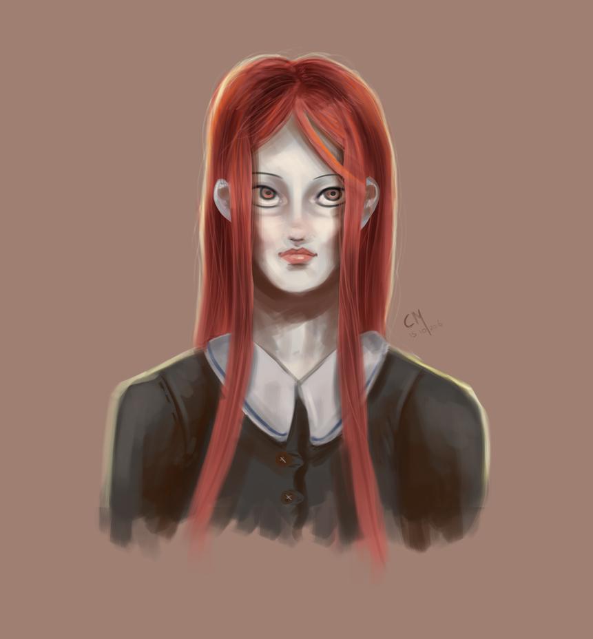 Siera portrait by Catiza