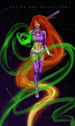 Starfire by Catiza