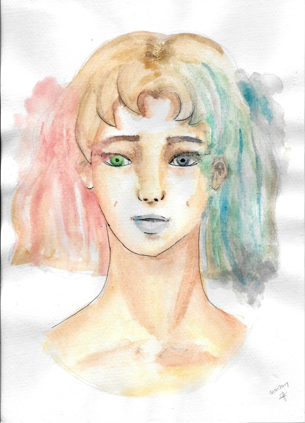 First watercolour painting [Advice asked] by Catiza