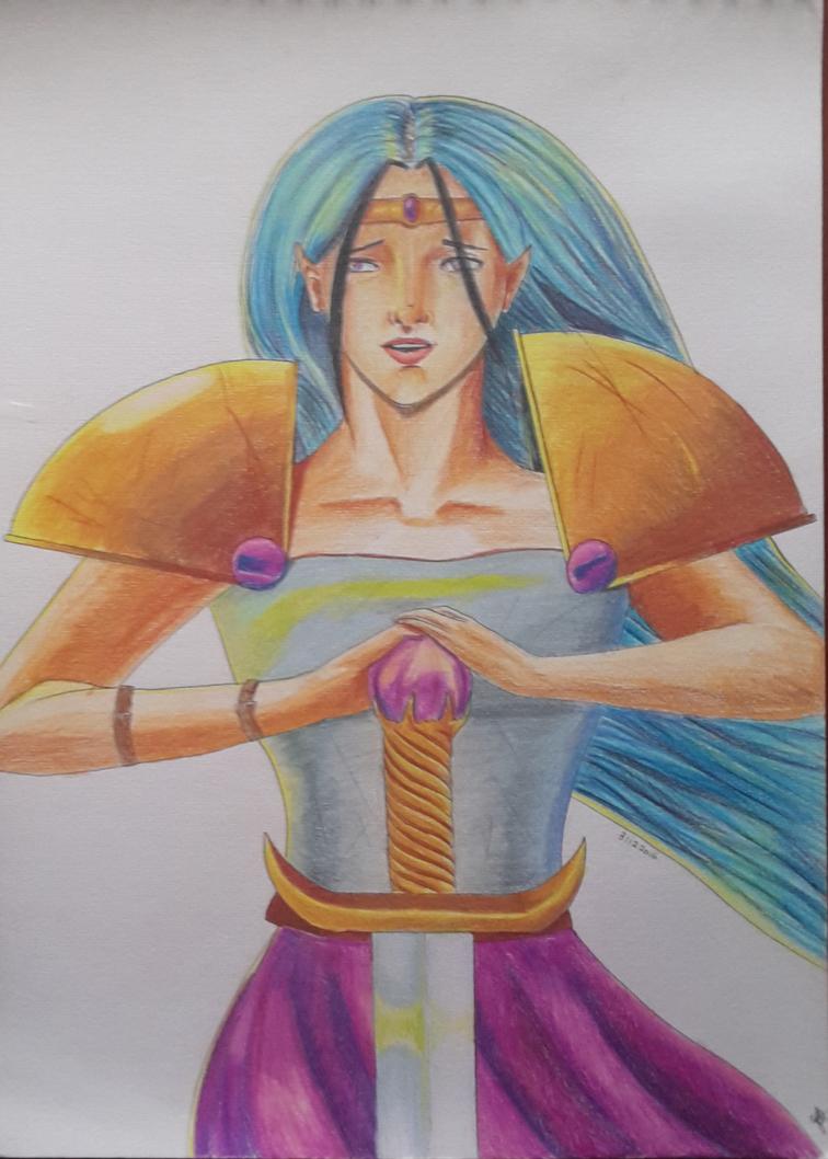 Warrior 2016 by Catiza