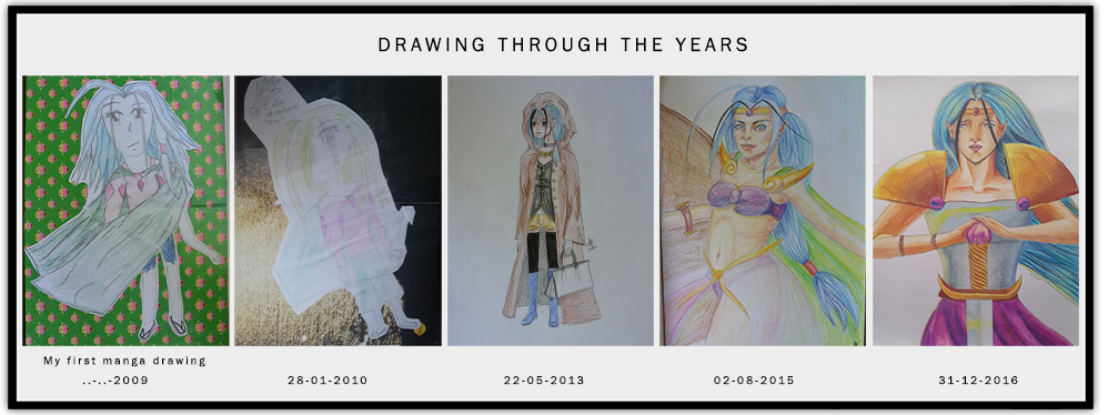 Art through the years by Catiza