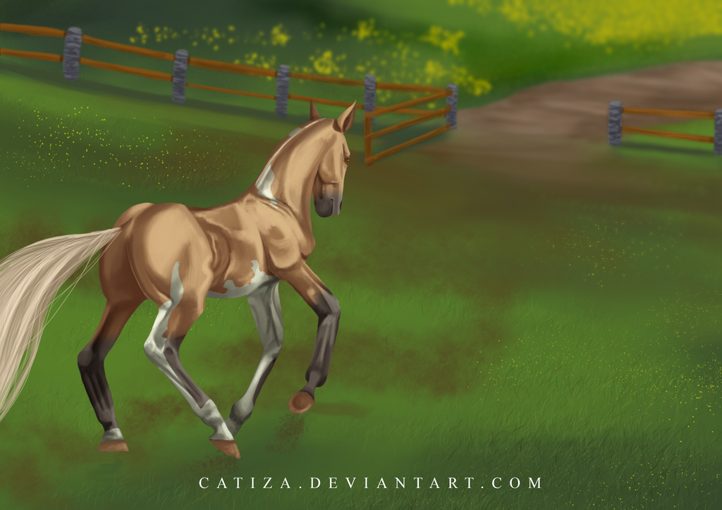 EquiBreak: The grand escape by Catiza
