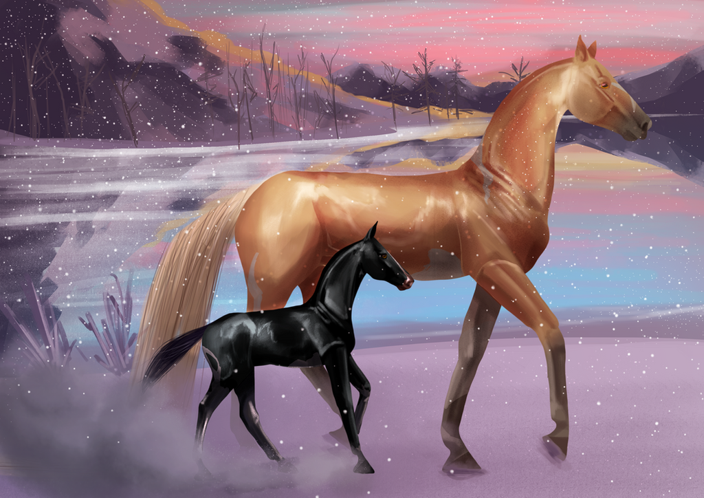 EquiBreak: Snow by Catiza