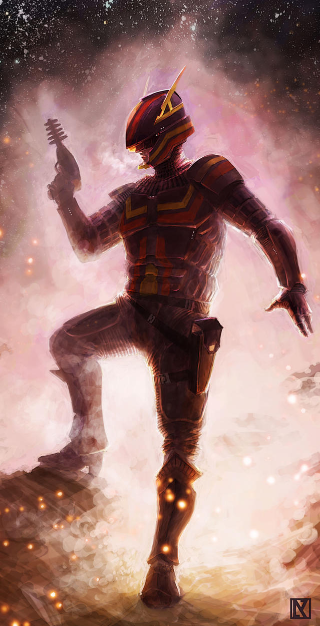 Meteor Armor by NicholasKay