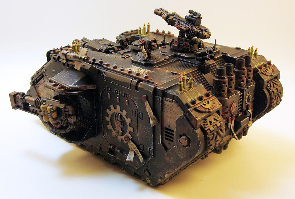 Land Raider Redeemer Rear 1 by NicholasKay