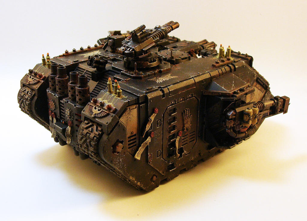 Land Raider Redeemer Rear 2 by NicholasKay