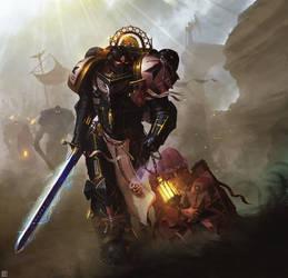 Black Templar: The Crusade Begins! (Complete) by NicholasKay