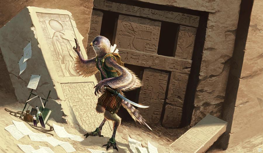 Pathfinder: Egalit Adventurer by NicholasKay