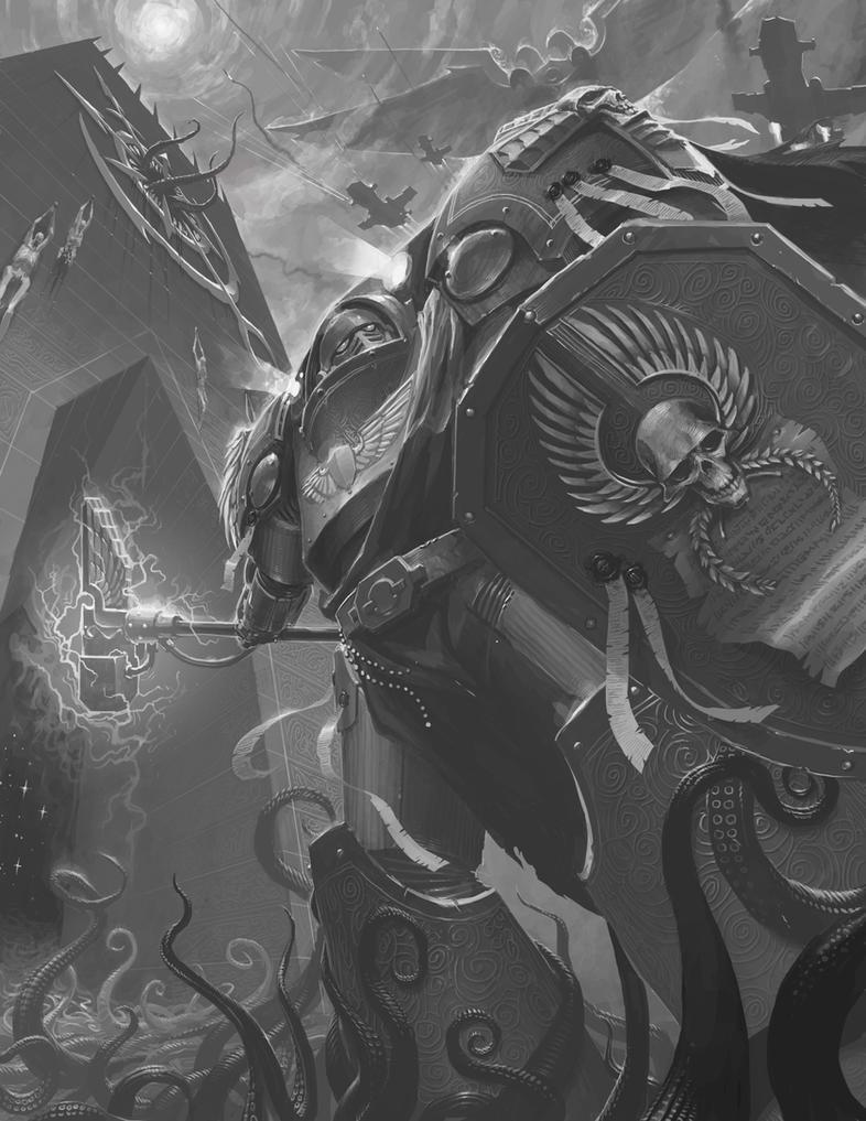 Emperor's Shields' Terminator: Monochrome by NicholasKay