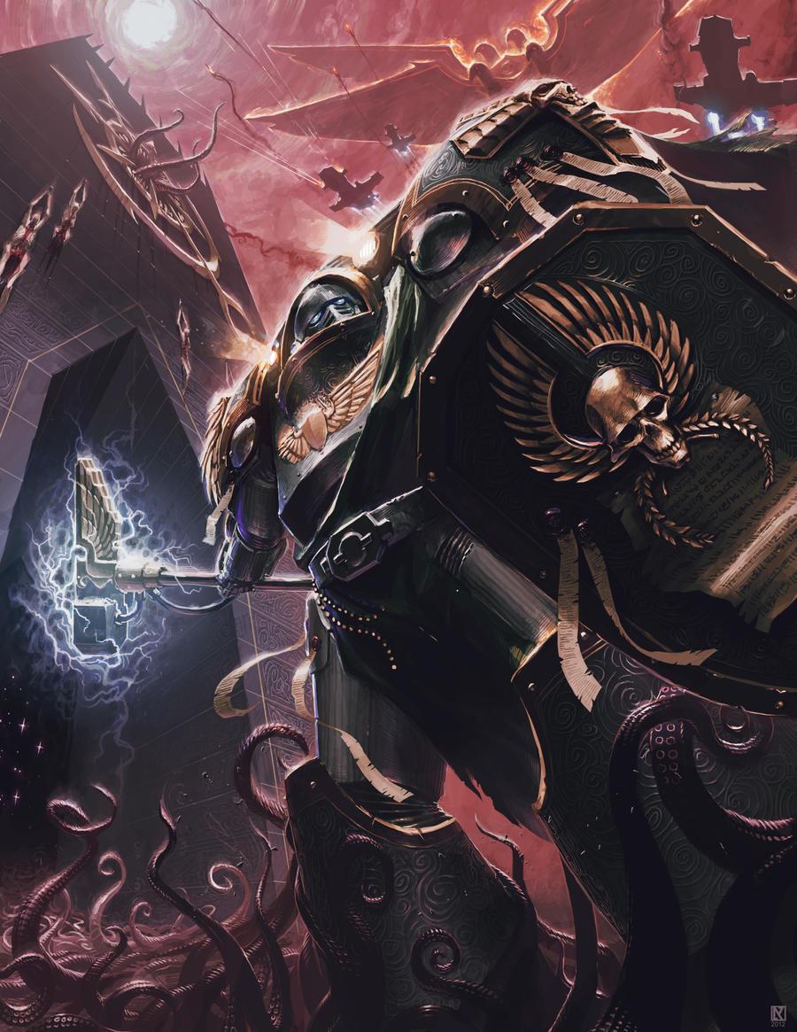 Emperor's Shields' Terminator by NicholasKay