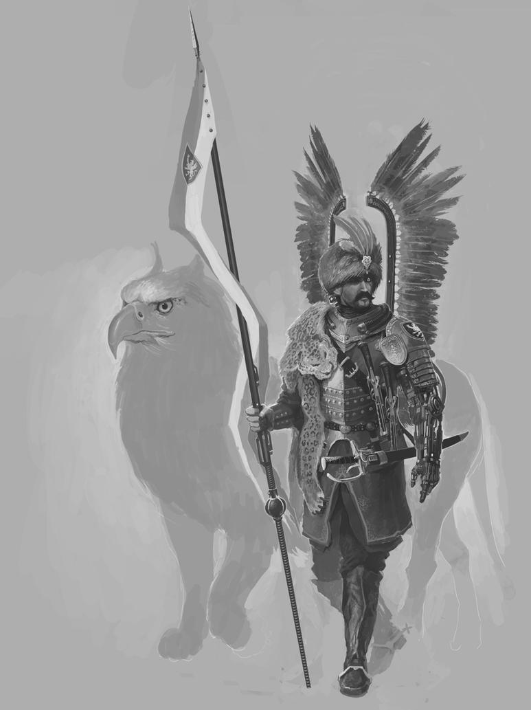 Hussar WIP 2 by NicholasKay