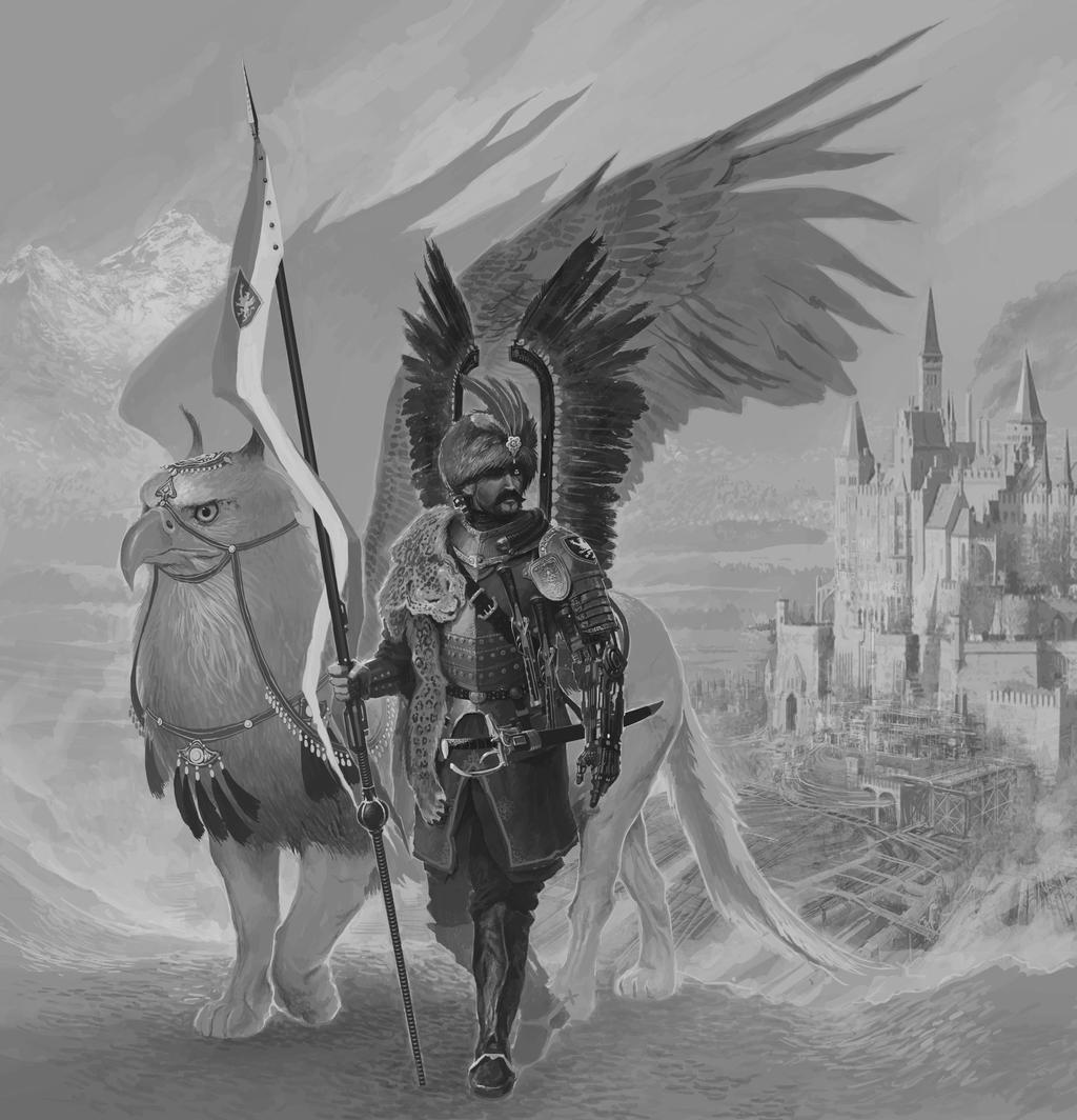 Futurist Hussar WIP 3 by NicholasKay