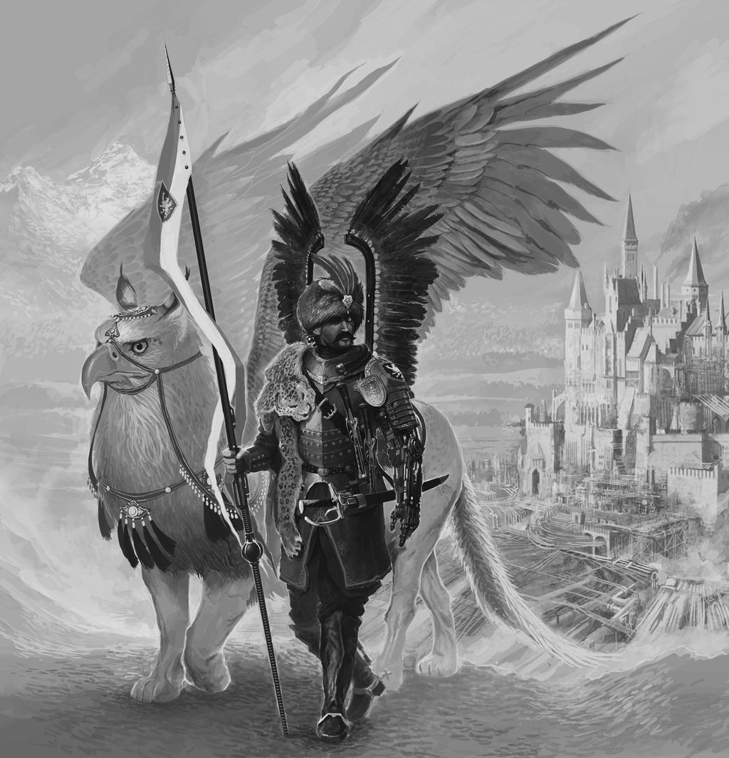 Futurist Hussar WIP 4 by NicholasKay