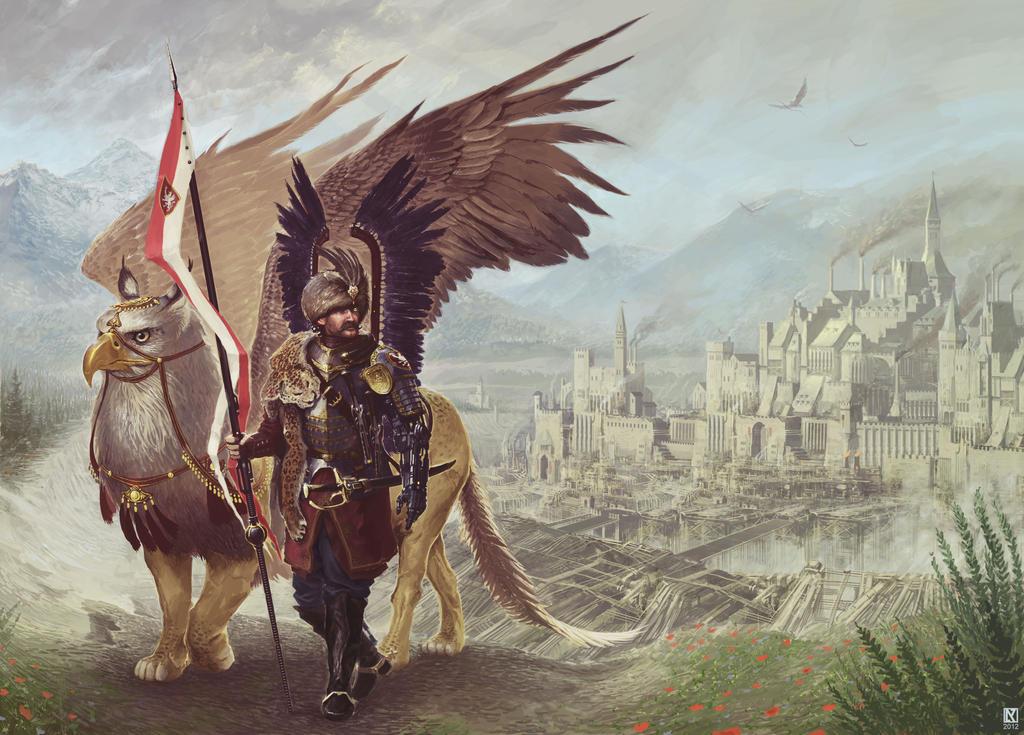 Futurist Hussar by NicholasKay