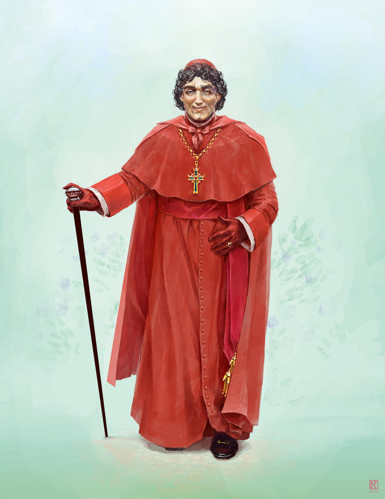 Cardinal Fratelli by NicholasKay