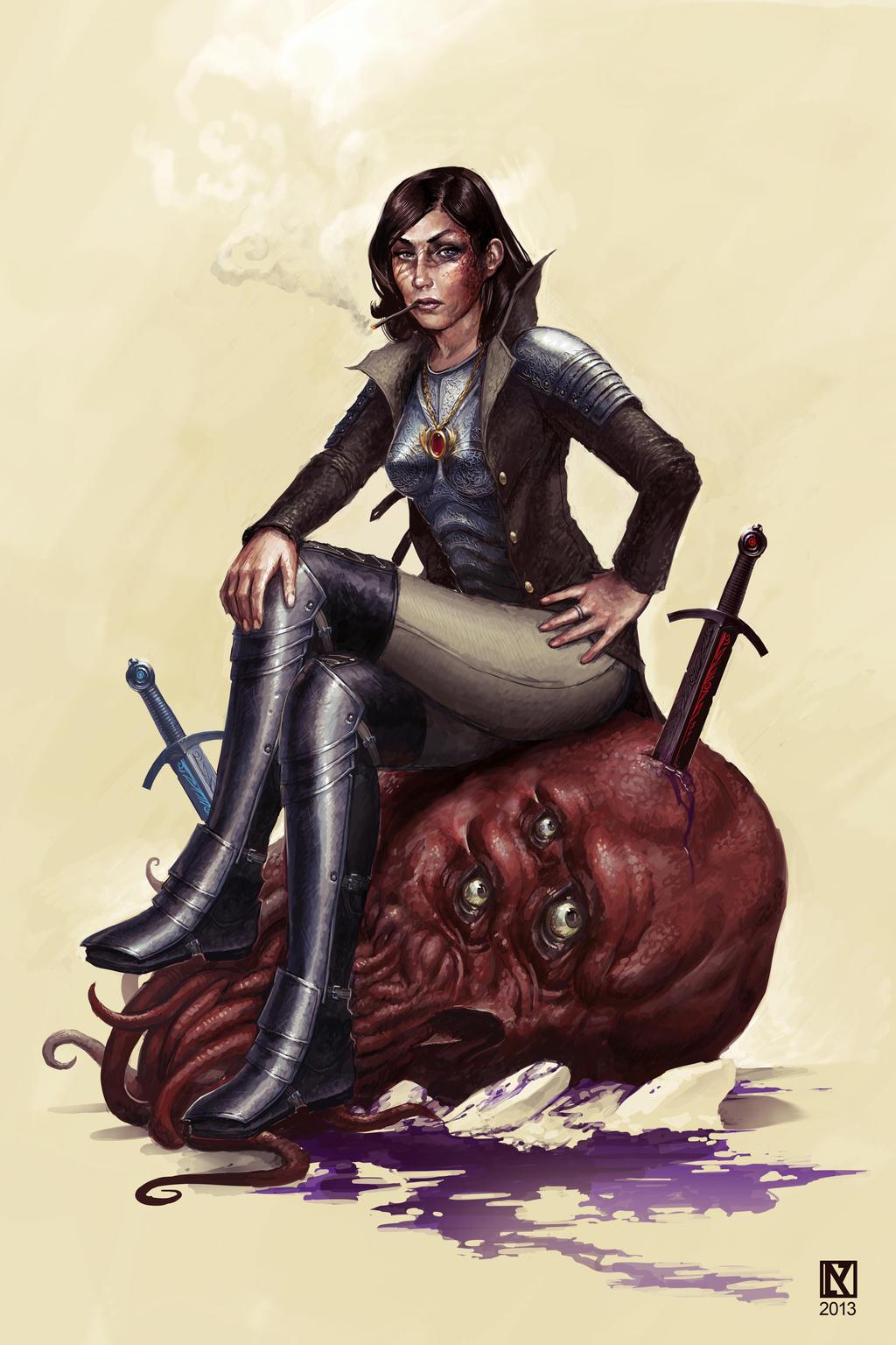Lilith Ander-Kurze by NicholasKay