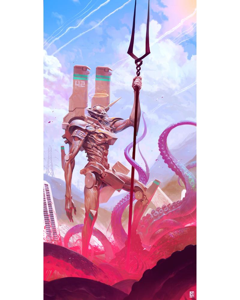 Slayer by NicholasKay