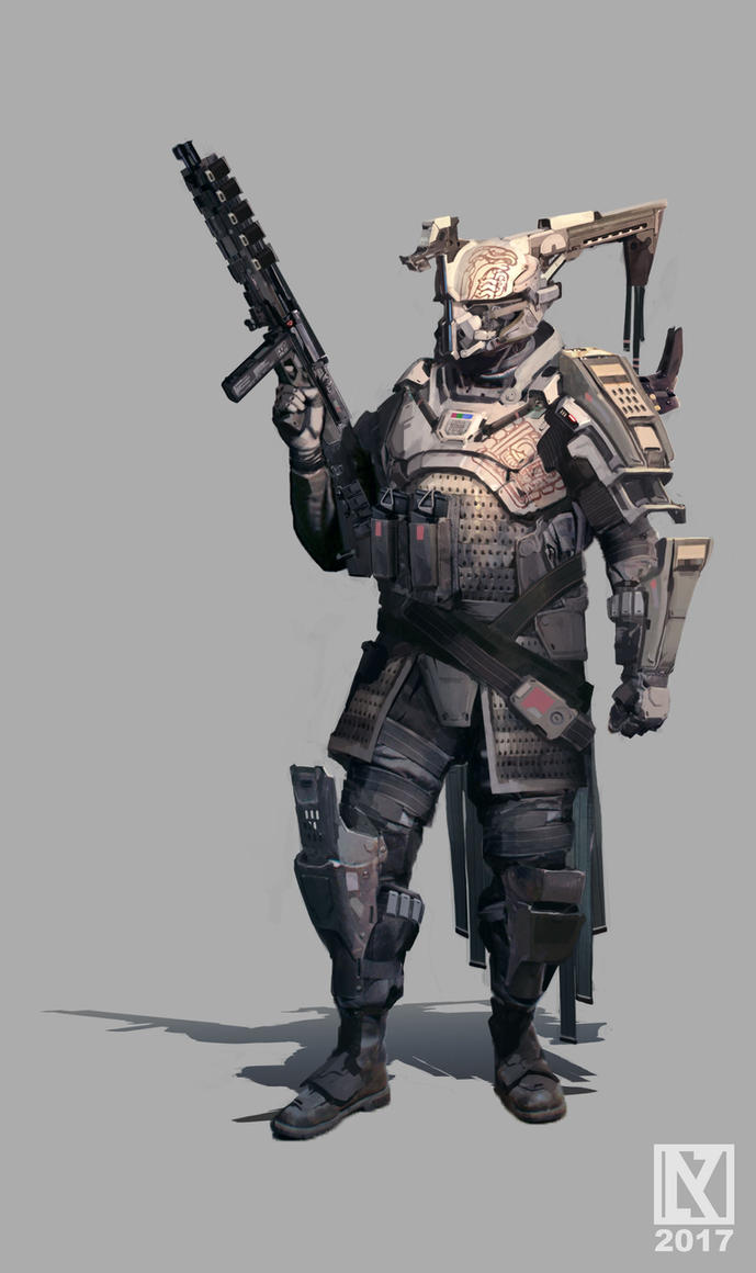Destiny Titan by NicholasKay