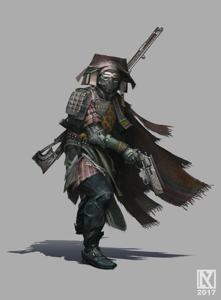 Destiny Hunter by NicholasKay