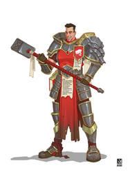 Riot UA Team DnD Character: Paladin