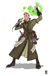 Riot UA Team DnD Character: Alchemist