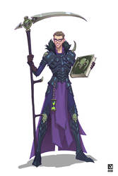 Riot UA Team DnD Character: Necromancer